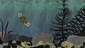 公演「今、BEAR CAME ALONG」のためのアニメーション静止画