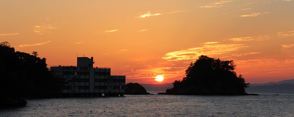 津奈木の夕焼け